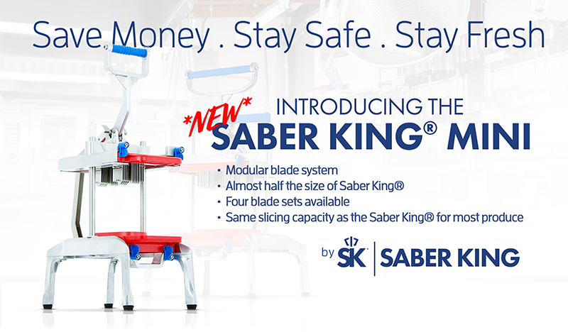 Save Money. Stay Safe. Stay Fresh. Saber King Mini.